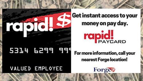 Rapid PayCard