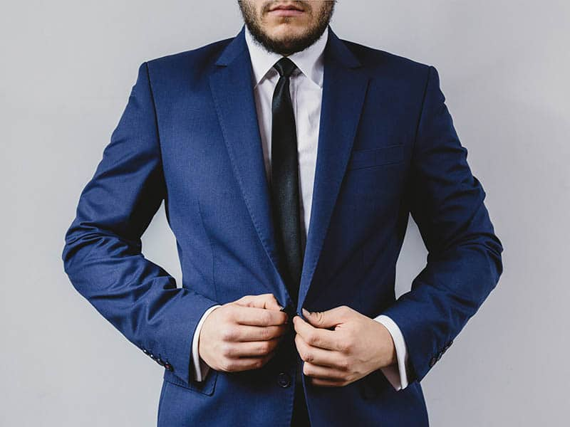 Dress up for an interview